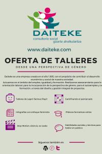 OFERTA DE TALLERES