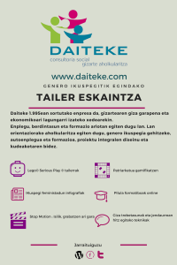 TAILERREN ESKAINTZA